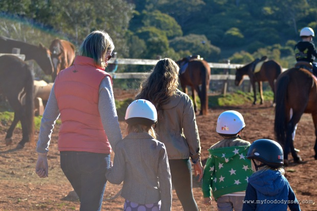 Going horse riding at Chesleigh Homestead in Sofala, Australia | www.myfoododyssey.com