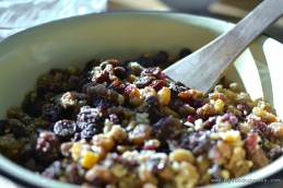 Mam's Christmas Cake Fruit Mix | www.myfoododyssey.com