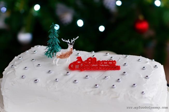 Mam's Christmas Cake   www.myfoododyssey.com