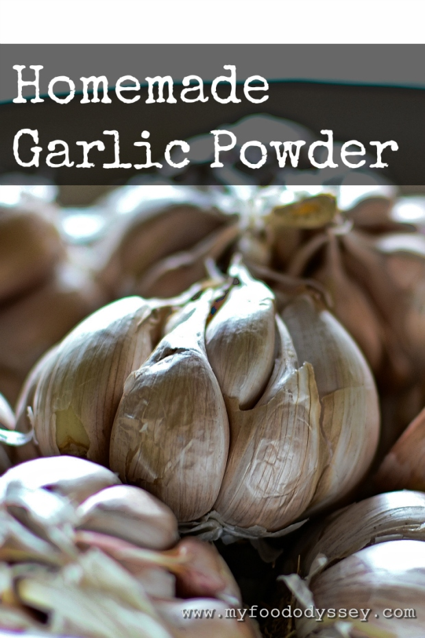 Homemade Garlic Powder | www.myfoododyssey.com
