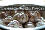 Homemade Garlic Powder