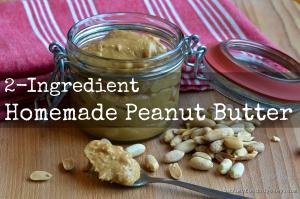 Homemade Peanut Butter | www.myfoododyssey.com