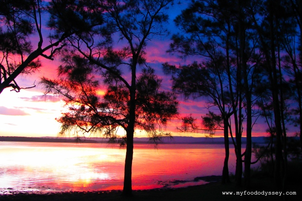 Summer Sunset in Jervis Bay, NSW (Australia) | www.myfoododyssey.com