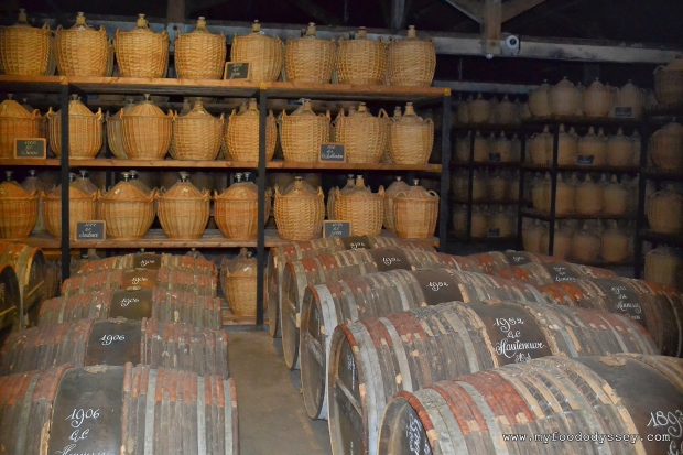 Brandy Barrel at Hennessy Cognac, France | www.myfoododyssey.com