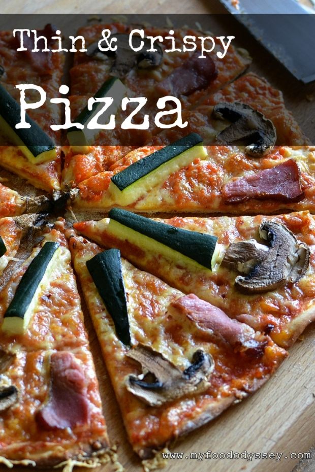 Homemade Pizza | www.myfoododyssey.com