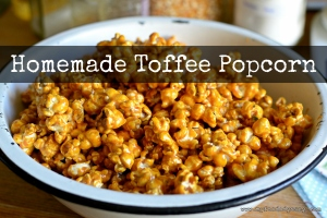 Homemade Toffee Popcorn | www.myfoododyssey.com