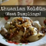 Lithuanian Koldunai (Meat Dumplings) | www.myfoododyssey.com