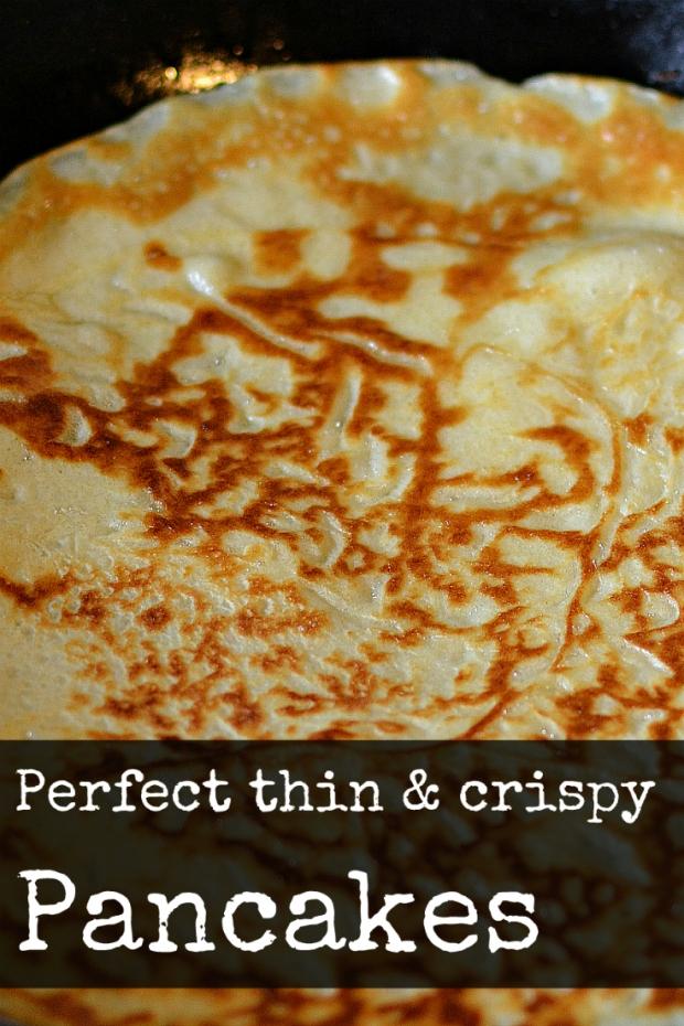 Thin crispy pancakes recipe my food odyssey thin and crispy pancakes myfoododyssey ccuart Images