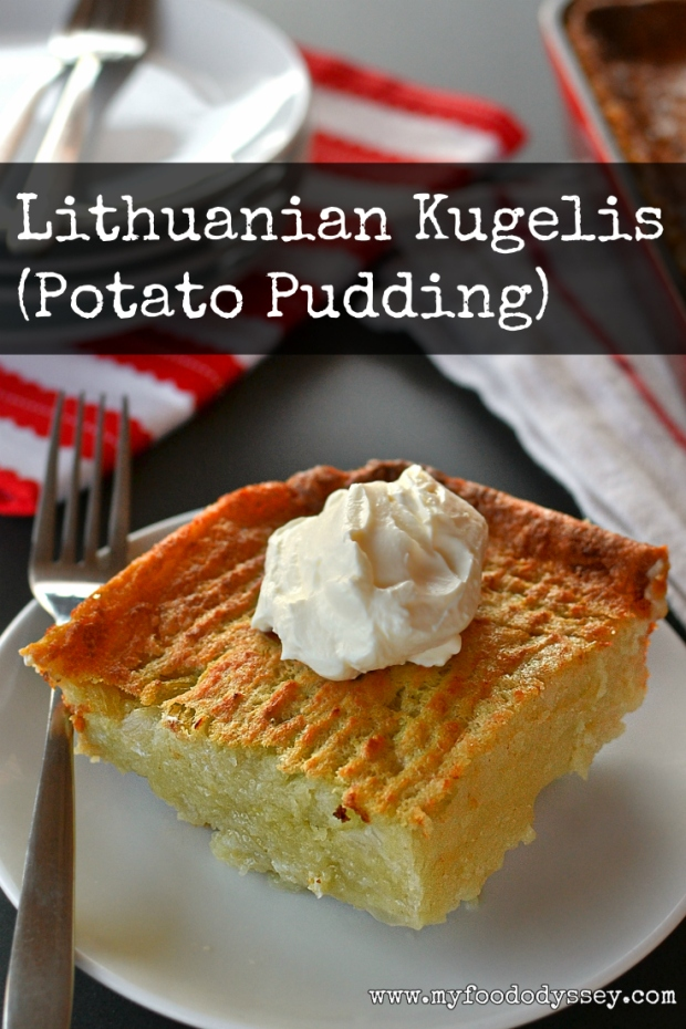 Lithuanian kugelis potato pudding recipe my food odyssey lithuanian kugelis myfoododyssey forumfinder Image collections