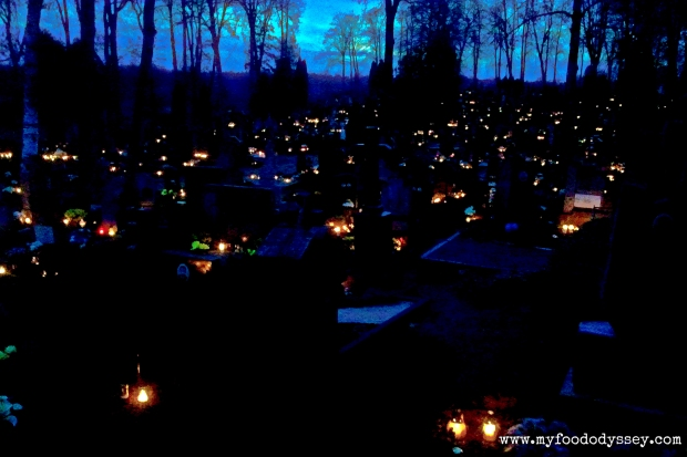 All Saints Day (Vėlinės), Lithuania | www.myfoododyssey.com