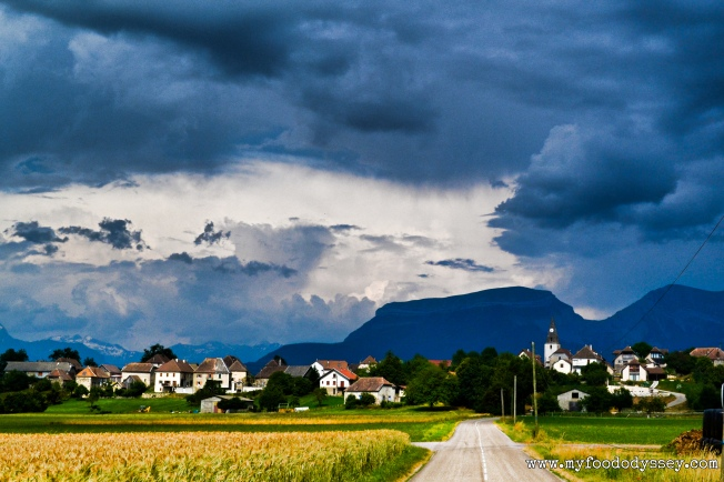 Angry Sky, Northern Provence | www.myfoododyssey.com