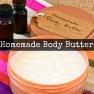 Homemade Body Butter | www.myfoododyssey.com