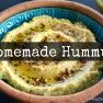 Homemade Hummus | www.myfoododyssey.com