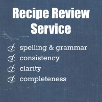 Recipe Review Service | www.myfoododyssey.com
