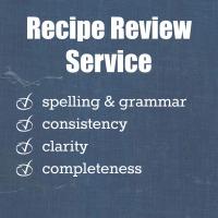 Recipe Review Service | www.myfoododyssey.com