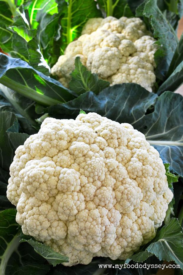 Cauliflower Heads | www.myfoododyssey.com