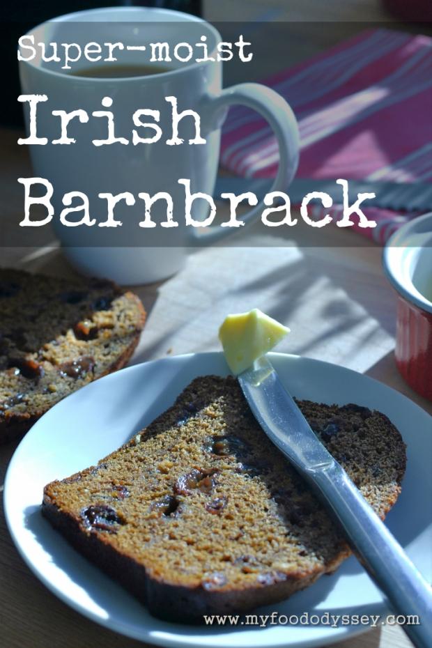Irish Barnbrack | www.myfoododyssey.com