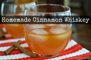 Homemade Cinnamon Whiskey Cocktail | www.myfoododyssey.com