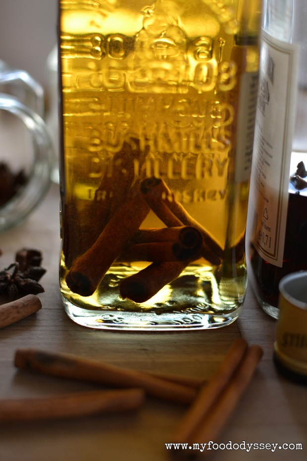 Homemade Cinnamon Whiskey | www.myfoododyssey.com