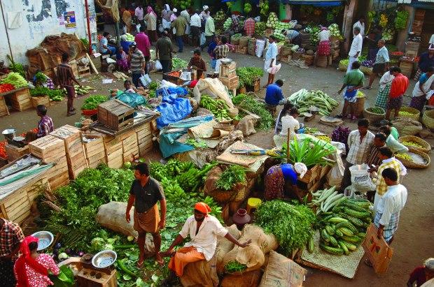 Food Market in Chalai (Kerala, India) | www.myfoododyssey.com via www.keralatourism.org
