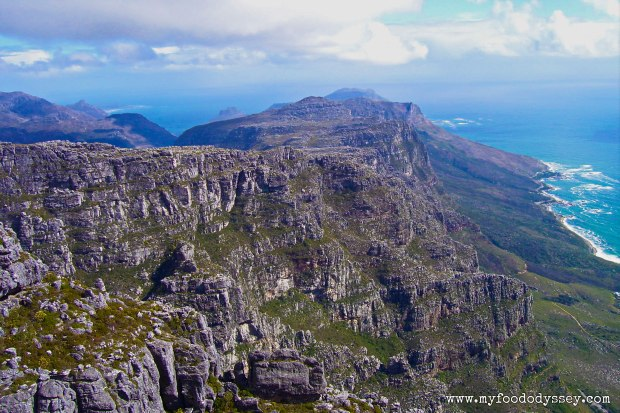 Table Mountain, South Africa | www.myfoododyssey.com