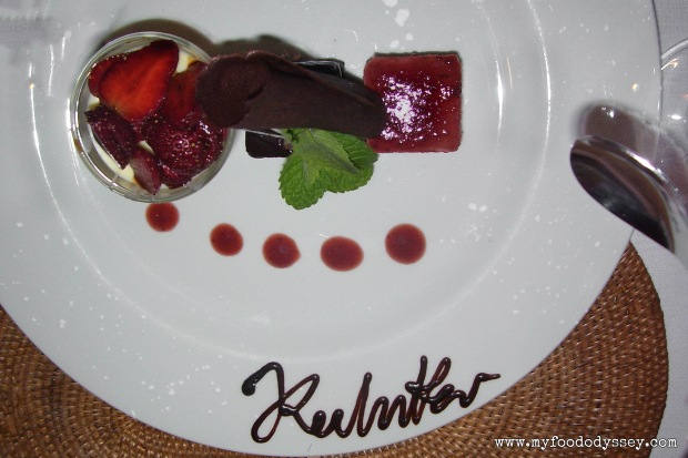 Autographed Desert, Cape Town (South Africa) | www.myfoododyssey.com