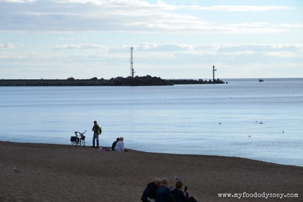 Klaipeda Beach, Lithuania | www.myfoododyssey.com