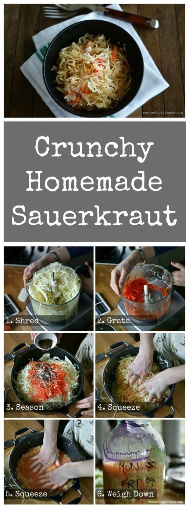 Lithuanian Sauerkraut (Rauginti Kopustai) | www.myfoododyssey.com
