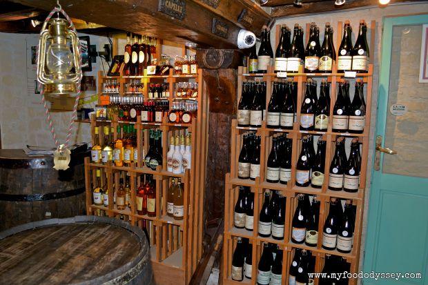 Calvados Cellar, Honfleur, France | www.myfoododyssey.com