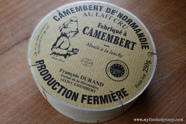 Cambert Cheese | www.myfoododyssey.com