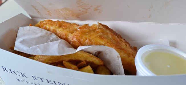 Rick Stein's Fish and Chips, Padstow | www.myfoododyssey.com