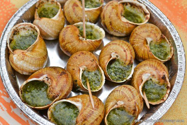 Tasting Snails, France | www.myfoododyssey.com