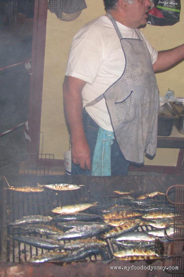 Sardine Street Vendor, Evora | www.myfoododyssey.com