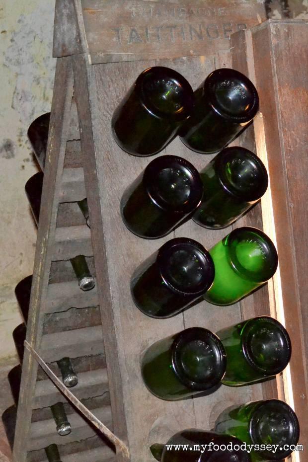 aittinger A-frame Riddling Rack (Pupitre) | www.myfoododyssey.com