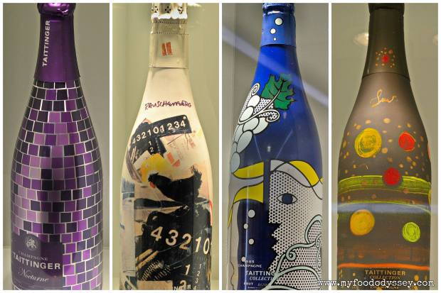 Taittinger Art Deco Bottle Collection | www.myfoododyssey.com