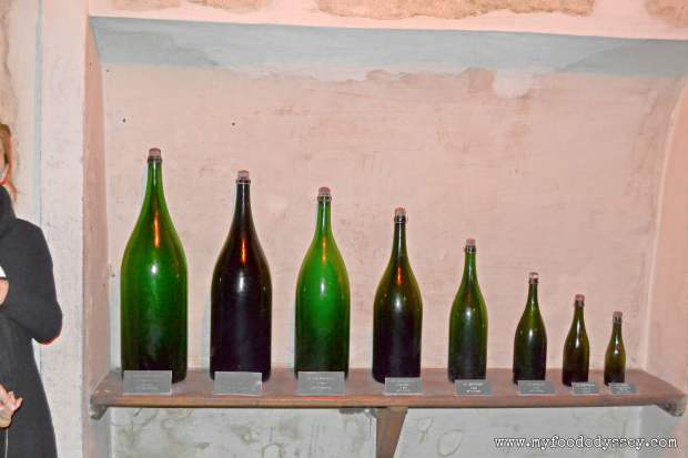 Taittinger Bottle Sizes | www.myfoododyssey.com