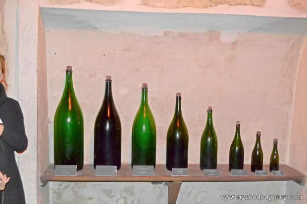 Taittinger Bottle Sizes | www.myfoododyssey.com