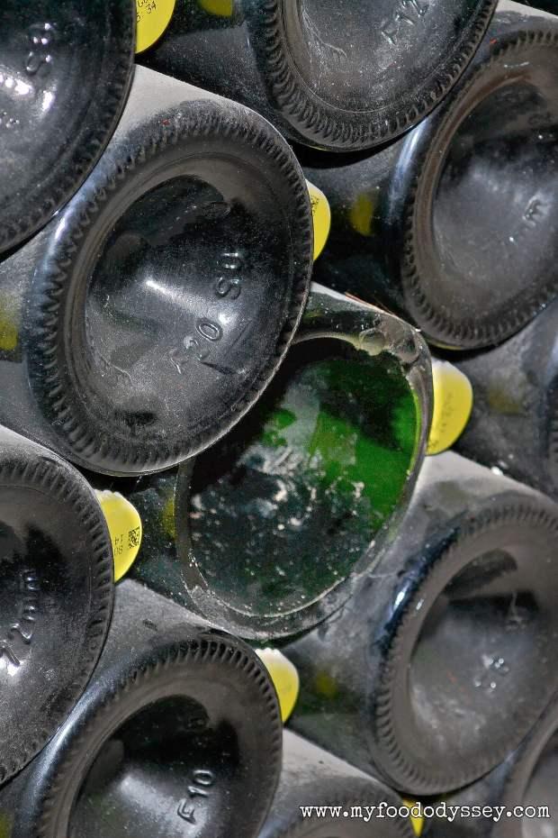 Taittinger Exploded Bottle | www.myfoododyssey.com