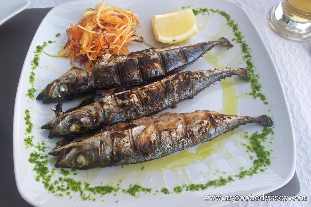 Grilled Sardines, Portugal | www.myfoododyssey,com