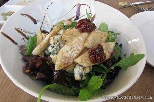 Blue Cheese & Pear Salad, Seville | www.myfoododyssey,com