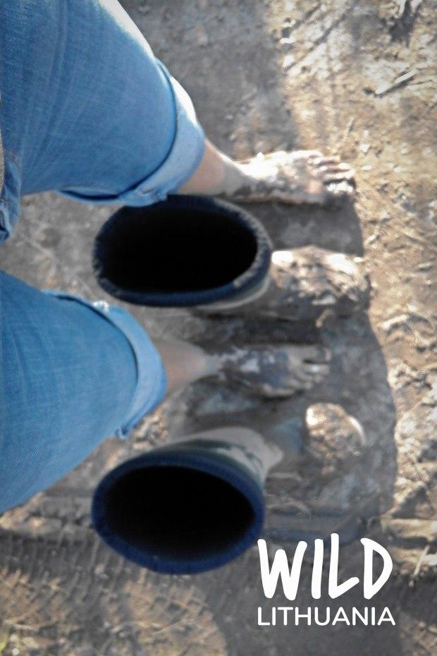 Muddy Feet | www.myfoododyssey.com