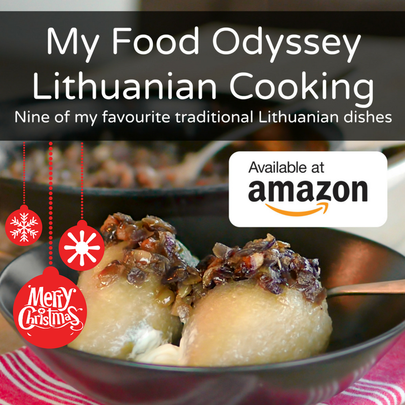 My Food Odyssey Lithuanian Cooking Nine of my favourite traditional Lithuanian dishes book | www.myfoododyssey.com
